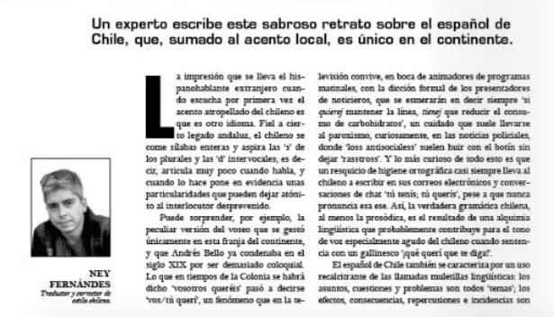 El español de Chile - Filigrana Traducciones