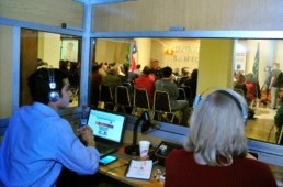 Filigrana Traducciones - Traducción simultánea - Seminario de Marina Silva en la Universidad Santo Tomás